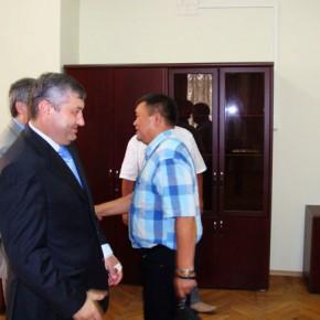 ФОТО: Делегация в Осетии - Кочиев и Шевцов