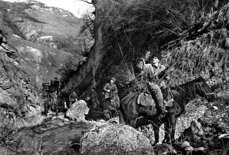 Осетинские партизаны-антифашисты, 1942 год